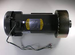 Landice Baldor Treadmill Drive Motor Repair Rebuild Maine Treadmill Repair