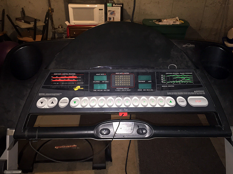 Proform 795 Sl Maine Treadmill Repair