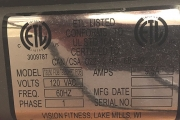 Vision Fitness T9350HRT