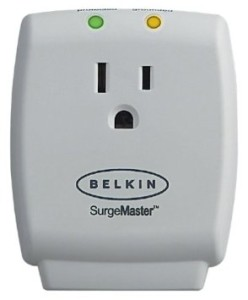 Belkin MasterCube 1 Outlet Wall-Mount Surge Protector