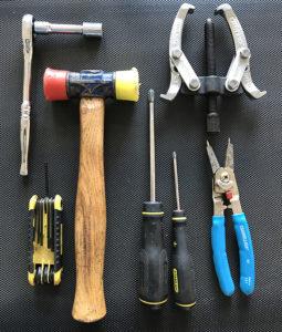 landice roller bearing replacement tools